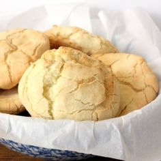 Grain-free, gluten-free bread. Soft and chewy, like a popover-pita-French bread fusion hard roll.