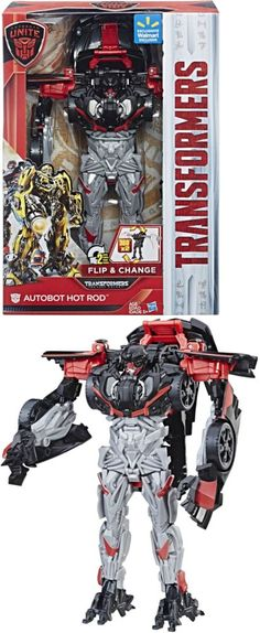 Transformers and Robots 83732: Transformers: Autobots Unite Flip And Change Autobot Hot Rod -> BUY IT NOW ONLY: $33.42 on eBay!