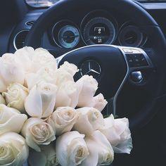 I've got a thing for white roses