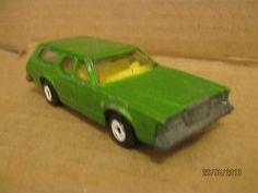 Matchbox Lesney 1981 Toy Car Green Mercury Cougar Villager USA Yank Corgi Size - http://www.matchbox-lesney.com/?p=15403