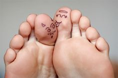 silly toes