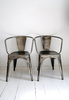 Great Antique metal chairs...