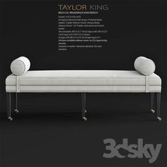 Taylor King BRUNSWICK KING BENCH8813 CLQ Queen