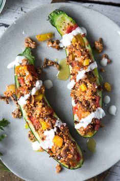 Stuffed zucchini from the oven. - Stuffed zucchini from the oven with mixed vegetables. A real feel-good meal. Healthy Cake, Healthy Dessert Recipes, Desserts, Baked Pumpkin, Pumpkin Recipes, Mixed Vegetables, Pumpkin Dessert, Different Recipes, Main Meals
