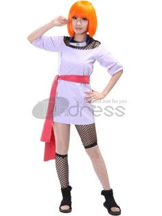 Make you the same as Temari in this Naruto cosplay costume for cosplay show.
