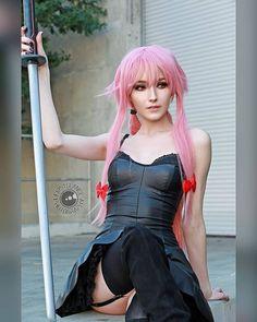 yuno cosplay by @kawaii_queentsun : @billo68 #yuno #yunogasai #yunocosplay #yunogasaicosplay #mirainikki #futurediary #anime #animegirl #animecosplay #costest #cosplay #cosplayphotography #cosplayshowcase #animeimpulse #animeimpulse2018#geekgirl #cosplaygirl