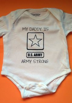 Cute for army baby <3 .....YEARS down the road but cute :)