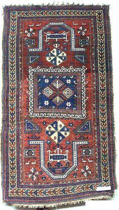 Fakhraly Carpet. Ganja group.  Early 20th Century.  For more information please visit:  http://karabakhfoundation.org/pages/azerbaijan-heritage-center/cultural-topics/textilesrugs/