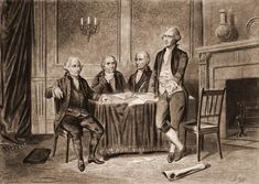 The Second Continental Congress was a convention of delegates from the 13 colonies that formed in Philadelphia in May 1775, soon after the launch of the American Revolutionary War. It succeeded the First Continental Congress, which met between September and October of 1774 John Adams, Alexander Hamilton, Today In History, Women In History, Ancient History, American Revolutionary War, American Civil War, Thomas Jefferson Facts, Robert Morris