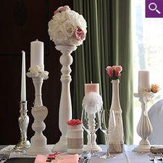 Kerzenständer / Kerzenleuchter mieten | weddstyle
