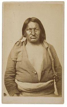 Big Buffalo Cow - Arapaho - circa 1869