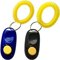 NewNewStar Pet Training Clicker with Wrist Strap, Dog Training Clicker, Black/Blue ~~ You could find more details by visiting the image link. (This is an affiliate link and I receive a commission for the sales) Dog Clicker Training, Training Your Dog, Dog Walking Business, Dog Behavior, Large Dogs, Dog Mom, Pet Supplies, Your Pet, Pets