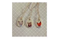 Animal friends pendant by Sam Bear Things