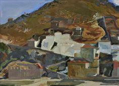 Panagiotis Tetsis Greece Painting, Landscape Paintings, Landscapes, Greek Art, Romanticism, Impressionist, Still Life, Print Patterns, Prints