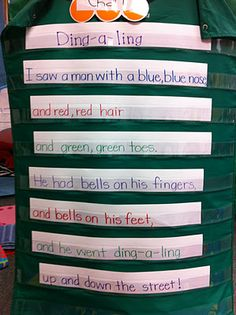 I did this my first year teaching, can't believe I forgot about it! A POEM I have used that isn't a popcorn word poem! Great poem for mental images!