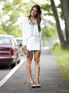 Meu Look: Branco total