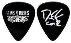 guns n roses guitar pick