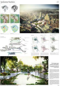 Galería de Estas son las propuestas que compiten para remodelar la Plaza España en Madrid - 64