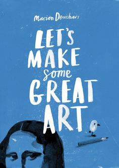 Let's Make some Great Art -- looks like it could be a fun resource.