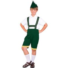 Bavarian Boy Kids Costume >>> Check this awesome image  : Kids halloween costumes