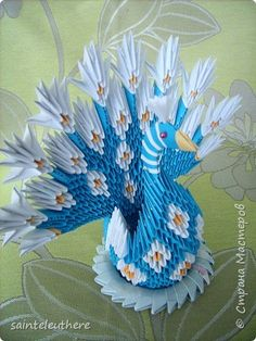 3d Origami Swan Small Mini