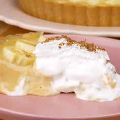 Good Food, Yummy Food, Tasty, Easy Cake Recipes, Dessert Recipes, Banoffee Pie, Saveur, Christmas Treats, Food Hacks