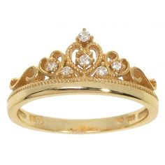 Shop for Eternally Haute Sterling Silver Pave Cubic Zirconia Princess Kate Crown Ring. Get free delivery On EVERYTHING* Overstock - Your Online Jewelry Shop! King And Queen Crowns, Ring Stores, Cubic Zirconia Rings, Princess Kate, Rings Cool, Rings Online, Sterling Silver Jewelry, Jewelry Watches, Accessories