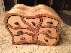 """Tree"" bandsaw box - by rockmolsen @ LumberJocks.com ~ woodworking community"
