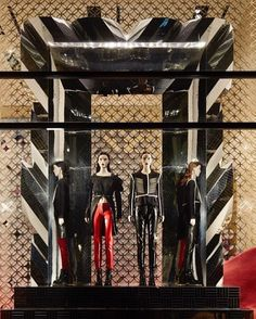 """LOUIS VUITTON, Champs Elesees, Paris, France, """"Collaboration Justin Morin x Louis Vuitton"""", photo by The Displayer, pinned by Ton van der Veer"""