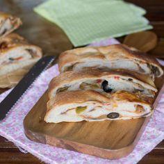 Cómo preparar rollo de pan mediterráneo con Thermomix « Trucos de cocina Thermomix
