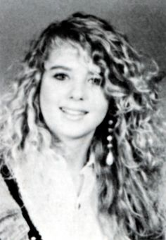 Here's actress Tara Reid as you've never seen her before- as a teenager with puppy fat and a dated-looking permed hairstyle. The teenager is seen in a yearbook photograph from 1991 when she would have been 15-years-old. In it she has a permed/curly hairstyle, bushy eyebrows, is wearing large ornate earrings and is wearing an unfashionable looking cardigan. Tara went to Ramapo High School in New Jersey for just one year close to where she grew up in Wyckoff, NJ- as well as attending the…