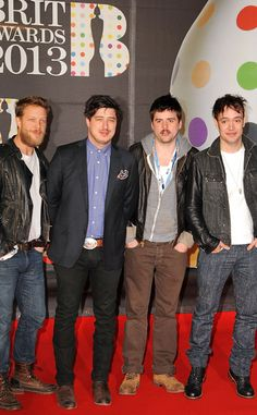 Mumford and sons Brit Awards