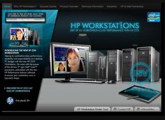 HP Workstations Microsite