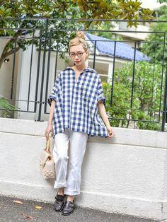 通年通して使えるスキッパーシャツは優秀♪人気のスキッパーシャツ♪20代のコーデアイデアを集めました♡