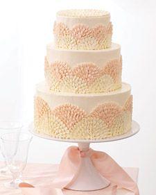 Wedding Cake: Martha Stewart
