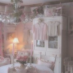 Discover ideas about pink aesthetic Angel Aesthetic, Aesthetic Vintage, Pink Aesthetic, Princess Aesthetic, My New Room, My Room, Dream Rooms, Dream Bedroom, Kawaii Bedroom