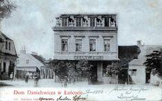 Lata 1900-1905 , Łańcut, ulica Danielewicza 2 - tzw. Dom Danielewicza Places, Movie Posters, Film Poster, Billboard, Film Posters, Lugares