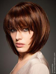 medium long bob haircut with fine layering