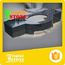 Oro proveedor comercial <strong> </ strong baño de mármol encimeras>