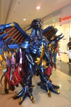 Sochi Domingo: Bahamut from Final Fantasy X in Otaku House Cosplay Idol 2012