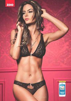 Natalia Vélez sexy Lingerie images in ZOO Australia, (17 Aug.2015) Issue