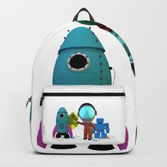 Bots and the Astronaut Backpack