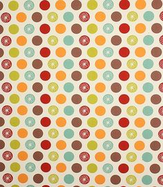 Loving these fresh colours, perfect for a retro kitchen http://www.justfabrics.co.uk/curtain-fabric-upholstery/apricot-daisy-fabric1/