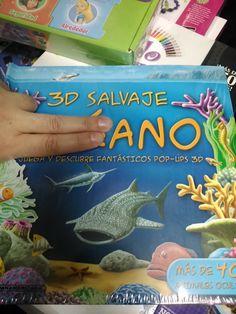 Aventura para los más niños! un ano salvaje anda suelto en el océano (como podemos ver en la portada) y las criaturas del fondo del mar deben organizarse para no ser engullidas. ¡y en 3d! impactante.