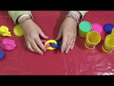 Fine Motor Skills - Playdough Chain - Thanks @SugarPlumOT (Nicole Fusaro) for this great link!  - -  Pinned by @PediaStaff – Please Visit http://ht.ly/63sNt for all our pediatric therapy pins