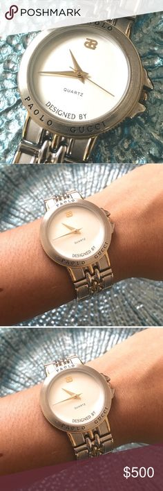 Authentic Vintage Palio Gucci Watch No signs of wear. For a man or women Gucci Accessories Watches