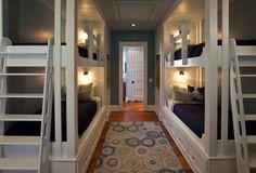 Vacation home staple… the bunk room. Herlong & Associates.