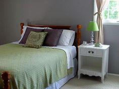 Wall Color: Benjamin Moore Ocean Air | Apartment Bedroom ...