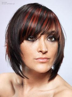 Pictures of modern semi-long hairstyles for girls and women. The latest trends and ideas for a new and fashionable medium length haircut. Long Hair With Bangs, Long Hair Cuts, Fringe Hairstyles, Hairstyles With Bangs, Bob Haircuts For Women, Haircut And Color, Hair Blog, Hair Pictures, Hairstyle Pictures