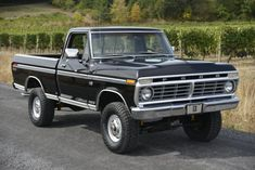 Bid for the chance to own a 1975 Ford Ranger at auction with Bring a Trailer, the home of the best vintage and classic cars online. Vintage Pickup Trucks, Classic Ford Trucks, Old Trucks, Vintage Cars, Antique Cars, Ford Trucks For Sale, Lifted Ford Trucks, 1979 Ford Truck, Ford 4x4